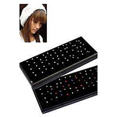 60pcs 1.8mm Stainless Steel Nose Rings & Studs Nose Piercing Ring Body Jewelry (1 Box) Christmas Gifts