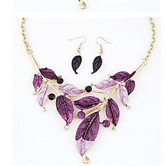 Conjunto de jóias Strass Liga / Strass Mulheres