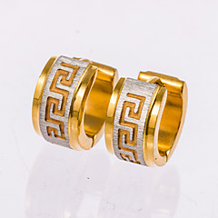 בגדי ריקוד גברים עגילים צמודים טבעות חישוקים תכשיטים תכשיטים עבור חתונה Party יומי קזו'אל Christmas Gifts