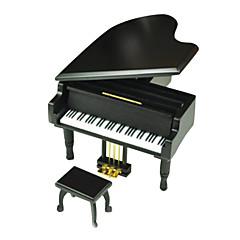 オルゴール おもちゃ ピアノ ウッド メタル 小品 ギフト