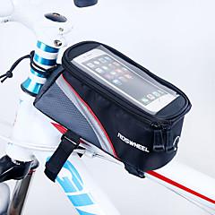 Χαμηλού Κόστους Τσάντες Ποδηλάτου-ROSWHEEL Κινητό τηλέφωνο τσάντα / Τσάντα για σκελετό ποδηλάτου 5.5 inch Οθόνη Αφής Ποδηλασία για iPhone 8 Plus / 7 Plus / 6S Plus / 6 Plus / iPhone X Κόκκινο / Αδιάβροχο Φερμουάρ