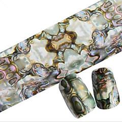 1 Adet 100cmx4cm glitter tırnak folyo etiket güzel tüy güzel karikatür dudaklar tırnak süslemeleri diy güzellik stzxk06-10