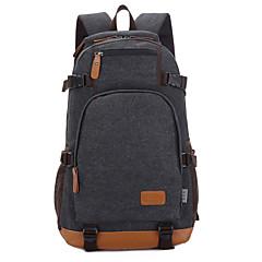 학생 / 여행 블루 / 블랙 / 카키 / 커피 15 인치 노트북 가방 배낭 가방 캔버스