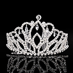 Women's Rhinestone Headpiece-Wedding Special Occasion Tiaras 1 Piece