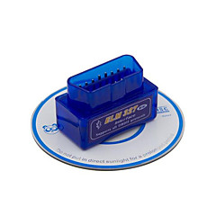 mini elm327 v1.5 bluetooth OBD super 1,5 hardware, een lager energieverbruik