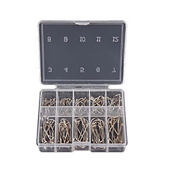 cheap Fishing Hooks-Fishing Hooks Fishing - 100 pcs Steel Alloy - Other