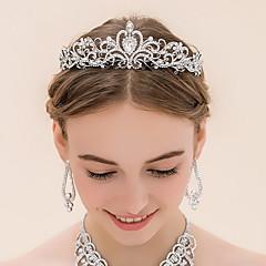 rhinestone alloy tiaras headpiece tyylikäs klassinen naisellinen tyyli