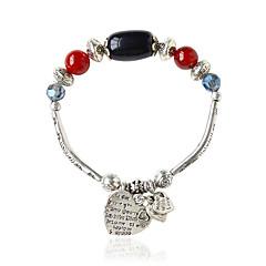 cheap Bracelets-Women's Chain Bracelet Bohemian Alloy Oval Jewelry Costume Jewelry