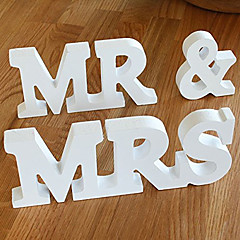 cheap -MR&MRS English letters photo studio photo props wedding wedding location place adorn article