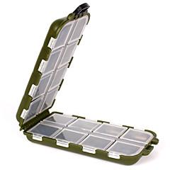cheap Fishing Tackle Boxes-Fishing Tackle Boxes Tackle Box Waterproof Multifunction 1 Tray Plastic 3.3 13