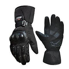 ski luvas quentes à prova de vento de corrida de carros motocicleta luvas elétricos chuva de inverno frio do dedo completa