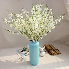 billige Kunstige blomster-Kunstige blomster 1 Gren Moderne Stil Evige blomster Gulvblomst