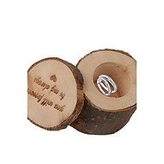Cylinder Wood Favor Holder With Gift Boxes-1 Wedding Favors Beautiful