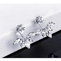 cheap Earrings-Women's Others / Leaf 1 Drop Earrings - Fashion Gold / Silver Earrings For Wedding / Party