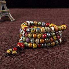 cheap -Strand Bracelets 1pc,Assorted Color Bracelet Fashionable Circle 514 Ceramic Jewellery