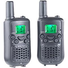 billige Walkie-talkies-T899C Håndholdt VOX / Kryptering / CTCSS / CDCSS 3-5 km 3-5 km 8 AAA 0.5W Walkie Talkie Toveis radio