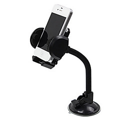 S2081 Vehicle GPS Navigation Mobile Phone Bracket 360 Degree Adjustable Expansion With A Transparent Sucking