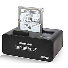 inch 2.5 / 3.5 המושב תיבת דיסק קשיח נייד חיצוני הדיסק הקשיח ולהתחיל צבע אקראי SATA