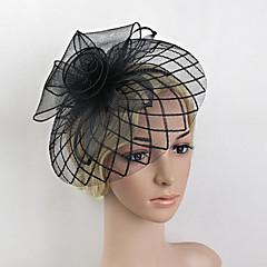 Χαμηλού Κόστους -φτερό καθαρό fascinators headpiece κομψό κλασικό θηλυκό στυλ