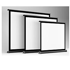 pano de mesa cortina cortina de 50 polegadas de plástico branco home office exterior cortina de contracção geral