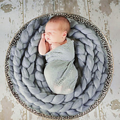baratos Acessórios para Crianças-Recém-Nascido Para Meninos / Para Meninas Algodão / Tricôt Romano Cobertor / Bandanas