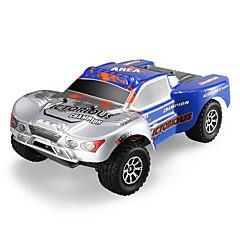 RC Car WL Toys A969-B 2,4G Off Road Car Korkea nopeus 4WD Drift Car Lastenvaunut 1:18 Sähköharja 70 KM / H Kauko-ohjain Ladattava