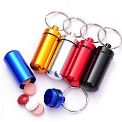 Schlüsselanhänger Spielzeuge Schlüsselanhänger Multifunktion Zylinderförmig Metal Aluminium Gute Qualität Stücke Geburtstag Kindertag