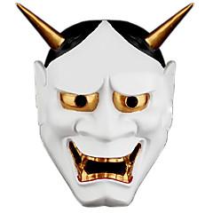 billige Originale moroleker-Haloween-masker Maskerademasker Spøkelse Horrortema Plast PVC 1pcs Deler Voksne Gave