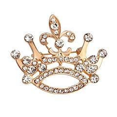 billige Motebrosjer-Herre Dame Nåler Mote Krystall Smykker Til Bryllup Fest Spesiell Leilighet Bursdag Daglig Avslappet