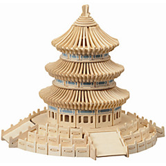 The Temple of Heaven / 3 d Wooden Simulation/Stereo DIY Assembly Educational Toys