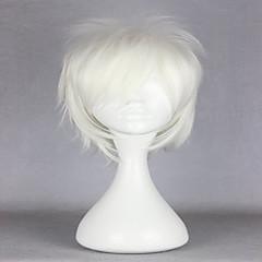 tanie Peruki syntetyczne-Peruki syntetyczne Kędzierzawy Gęstość Bez czepka Damskie Biały cosplay peruka Włosy syntetyczne