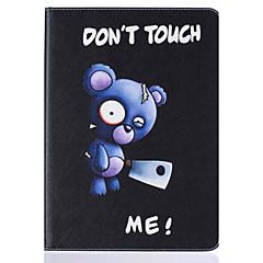 Varten Korttikotelo / Tuella / Flip / Kuvio Etui Kokonaan peittävä Etui Eläin Kova Tekonahka Apple iPad 4/3/2