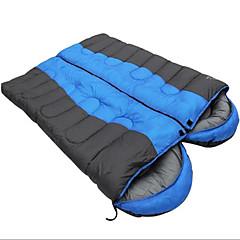 baratos -Saco de dormir Largura Dupla Casal (L200 cm x C200 cm) -5-15 Algodão Manter Quente Á Prova de Humidade Prova-de-Água Portátil A Prova de