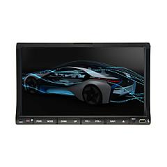 abordables Electronicos para el Coche-203DNAR 7 pulgada 2 Din Windows CE En tablero reproductor de DVD Bluetooth Integrado / iPod / RDS para Universal Apoyo / Soporte SD / USB