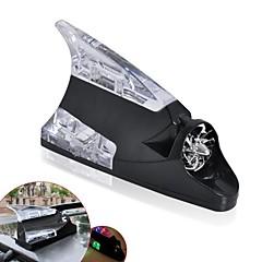 סנפיר כריש ziqiao כולל אנטנת כוח הרוח אוניברסלית הובילה אור מנורת מכונית