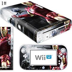 Wii U Zubehör-B-SKIN Audio und Video Aufkleber - Wii U Nintendo Wii U Neuartige Kabellos 1-3 Std.