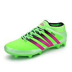Fußball-Schuhe Herrn Rutschfest Anti-Shake Atmungsaktiv Wasserdicht Halbschuhe PVC Leder Fussball