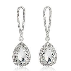Earring Crystal Drop Earrings / Dangle Earrings Jewelry Women Wedding / Party / Daily Alloy / Zircon 1 pair Silver