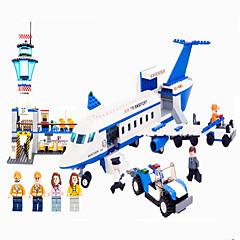 preiswerte -GUDI GUDI8912 Actionfiguren Bausteine Flugzeug Maschine Flughafen Kinder Mädchen Jungen Geschenk