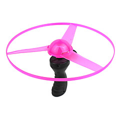 Shinny Flying Saucer Playing Toy LED Light for Kids (Random color)