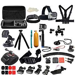 baratos Câmeras Esportivas & Acessórios GoPro-Montagem / Acessório Kit Multi funções / 3 Direções / Ajustável Para Câmara de Acção Todos / Xiaomi Camera / SJCAM Mergulho / Surfe / Esqui Liga de alumínio / Fibra de carbono / Metal - 1 pcs