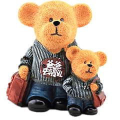 בנק מטבעות צעצועים Bear מצחיק בנים בנות חתיכות