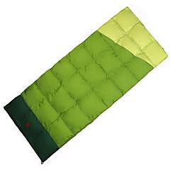 Saco de dormir Retangular Penas de Pato 10°C Bem Ventilado Prova-de-Água Portátil A Prova de Vento Á Prova-de-Chuva Dobrável Selado 230X