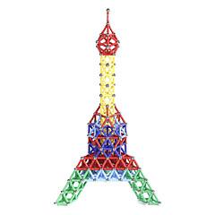 tanie Klocki magnetyczne-Blok magnetyczny Magnetyczne pałeczki Klocki 157 pcs Wieża Eiffla Magnetyczne Nowość Dla chłopców Dla dziewczynek Zabawki Prezent
