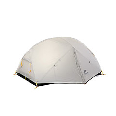 billige Telt og ly-Naturehike 2 personer Telt Utendørs Vindtett, Bærbar, Regn-sikker Dobbelt Lagdelt camping Tent til Vandring Camping Reise