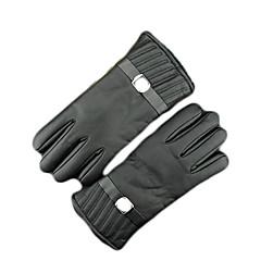 tanie Rękawiczki motocyklowe-Full Finger Skóra Skóra Motocykle Rękawiczki