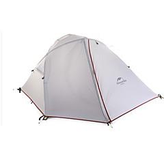 billige Telt og ly-Naturehike 2 personer Telt Dobbelt camping Tent Ett Rom Turtelt Hold Varm Fukt-sikker Velventilert Bærbar Vindtett Regn-sikker