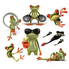 ziqiao 3d békák vízálló autós matrica vicces gekkó autók&motorkerékpárok matrica matrica