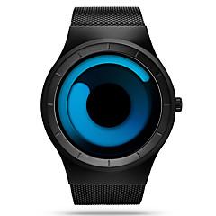 SINOBI Herrn Einzigartige kreative Uhr Sportuhr Armbanduhr Quartz Wasserdicht Schockresistent Edelstahl Band Luxus Freizeit Schwarz