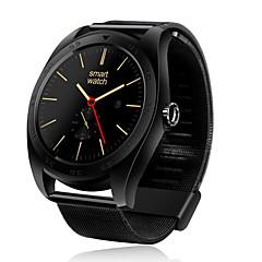 tanie Inteligentne zegarki-Inteligentny zegarek na iOS / Android Pulsometry / Spalonych kalorii / Radio FM / Ekran dotykowy / Krokomierze Powiadamianie o połączeniu telefonicznym / Rejestrator snu / siedzący Przypomnienie